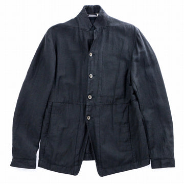 P.R.PATTERSON 19SS KILCHURN TOWN COAT THATCH TEXTILE リネン S  灰色 テーラードジャケット [梅田]