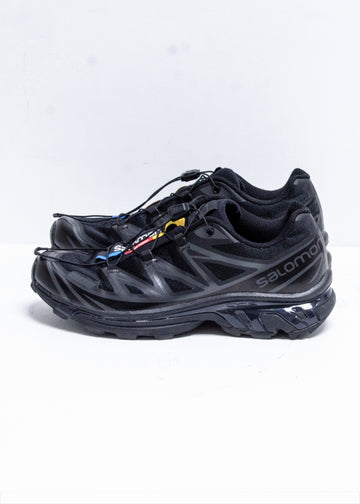 SALOMON サロモン XT6 SOFTGROUND LT ADV –ALL BLACK  8(JP26cm)  黒 スニーカー