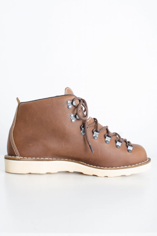 COMME des GARCONS HOMMExdanner 13AW MOUNTAIN LIGHT GORE-TEX Vibram マウンテンライトブーツ レザー 9  茶 ブーツ [堀江]