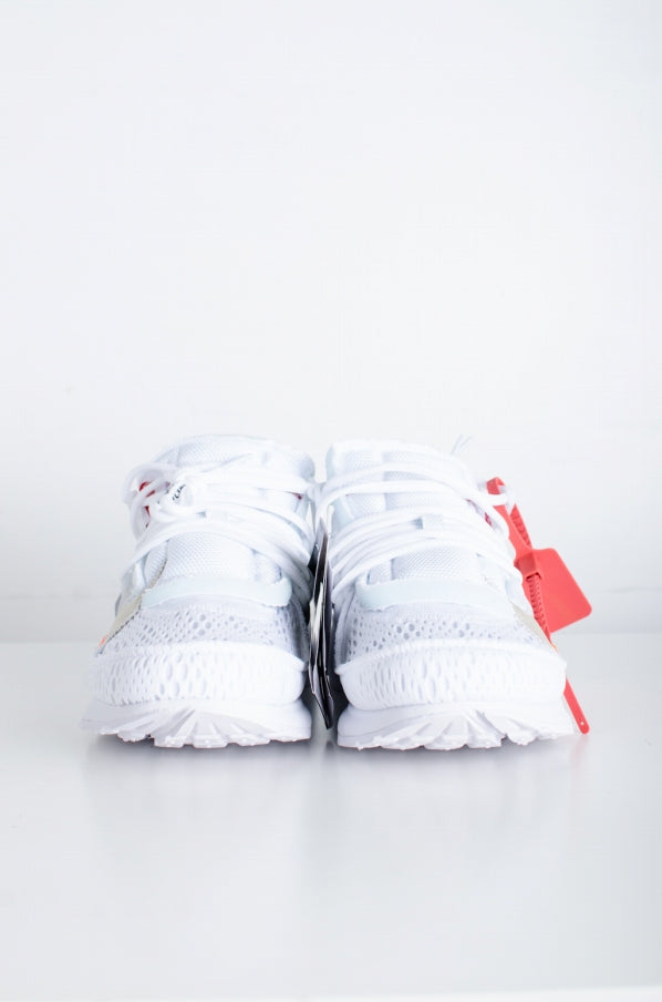 OFF-WHITExNIKE THE TEN NIKE AIR PRESTO 42 (JP26 cm) 9 (JP 27 cm) White sneakers