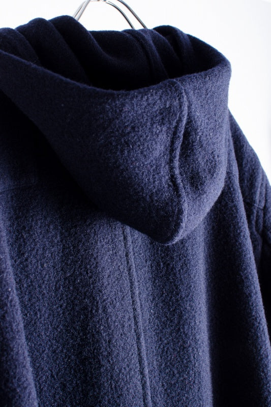 COMME des GARCONS HOMME  ダッフルコート ウール M  紺 ダッフルコート [堀江]