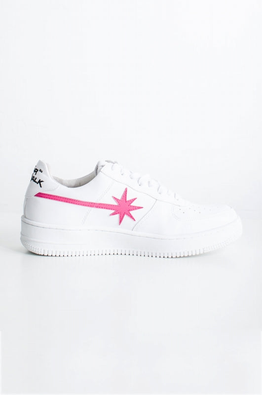 Starwalk NUBIAN POP UP limited model low cut sneakers white x pink white sneakers