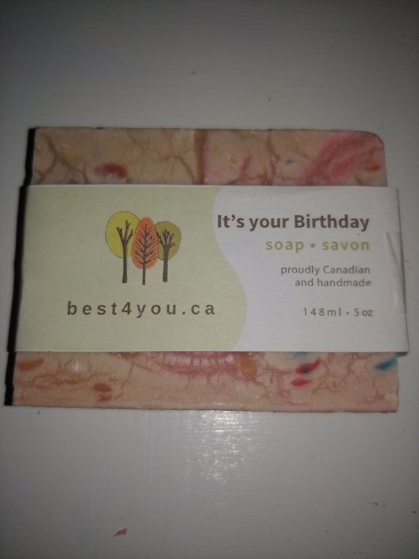 It's Your Birthday Handmade Soap Canada | Best4You
