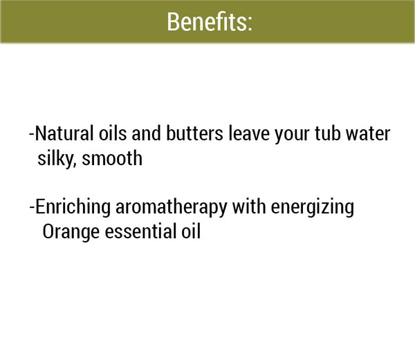 Citrus Bath Melts benefits