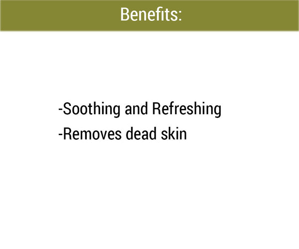 Eucalyptus Foot Scrub benefits