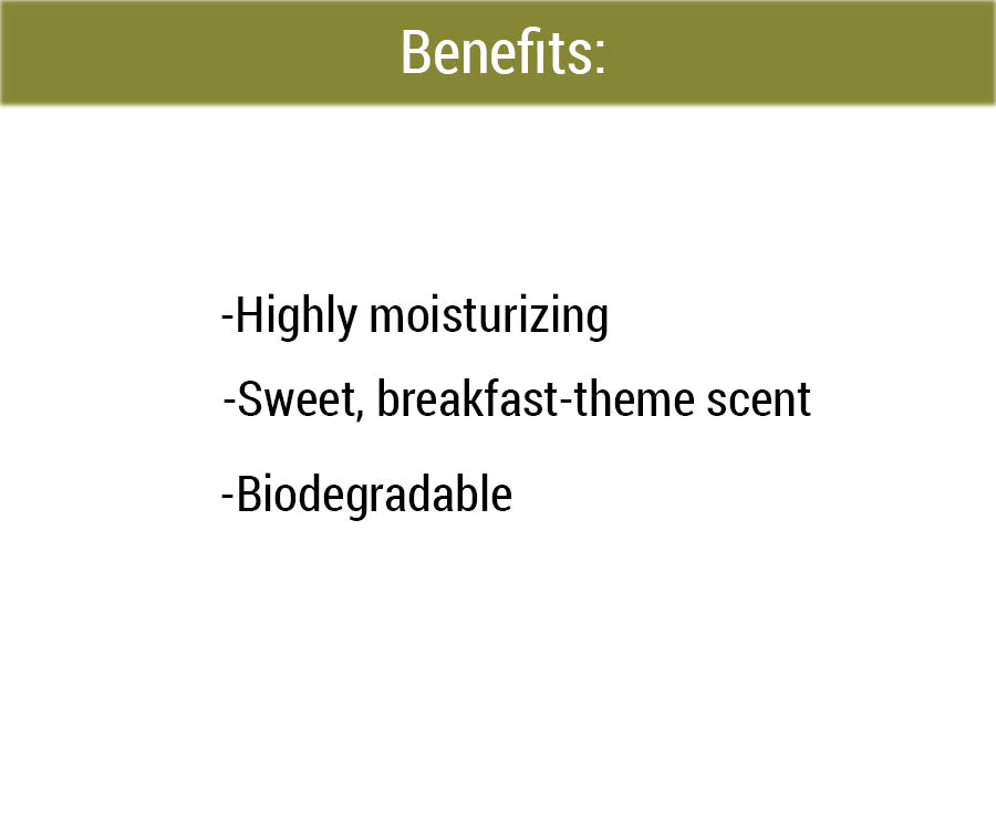 Honey Oatmeal Natural Scent benefits