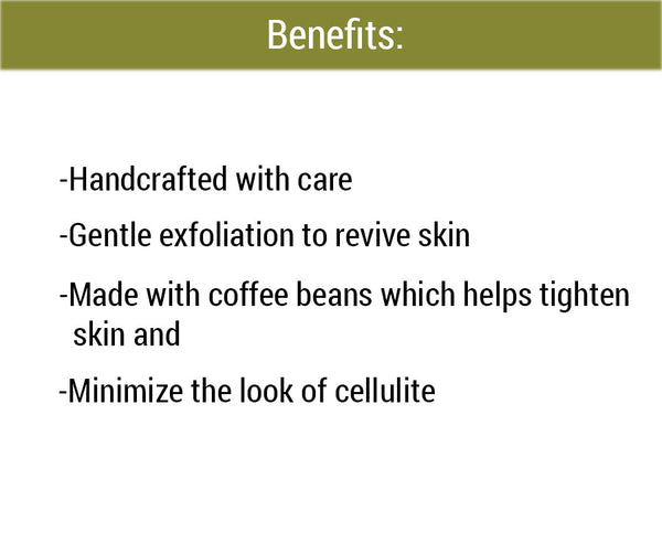 homemade exfoliating body Coffee Scrub Benefits