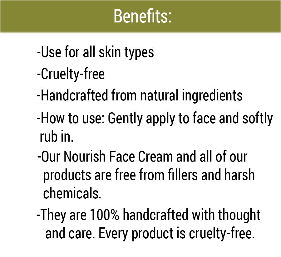 Organic Nourish Face Cream Benefits