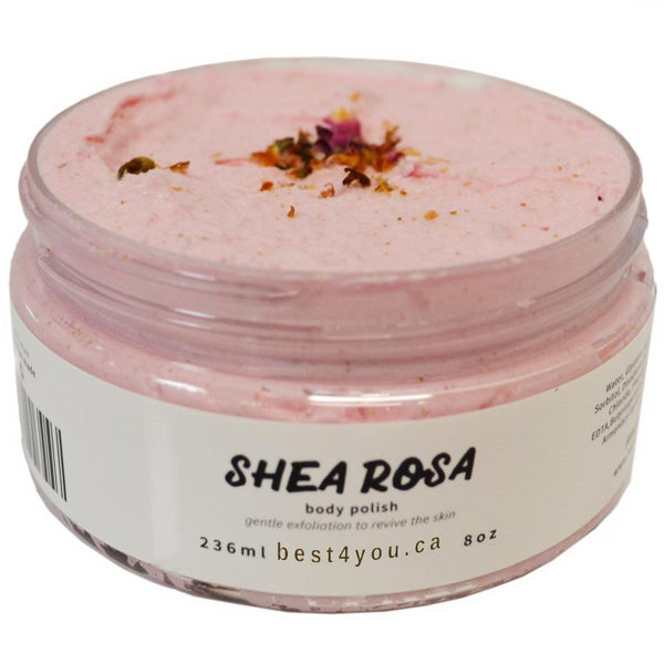 Shea Rosa Foaming Body Polish
