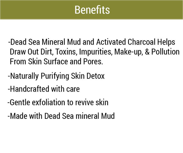 Suds N' Mud Foaming Body Polish Benefits