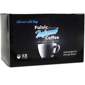 12 POD BOX OF FULVIC COFFEE-CA