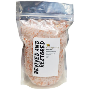 Revived & Restored Bath Salts