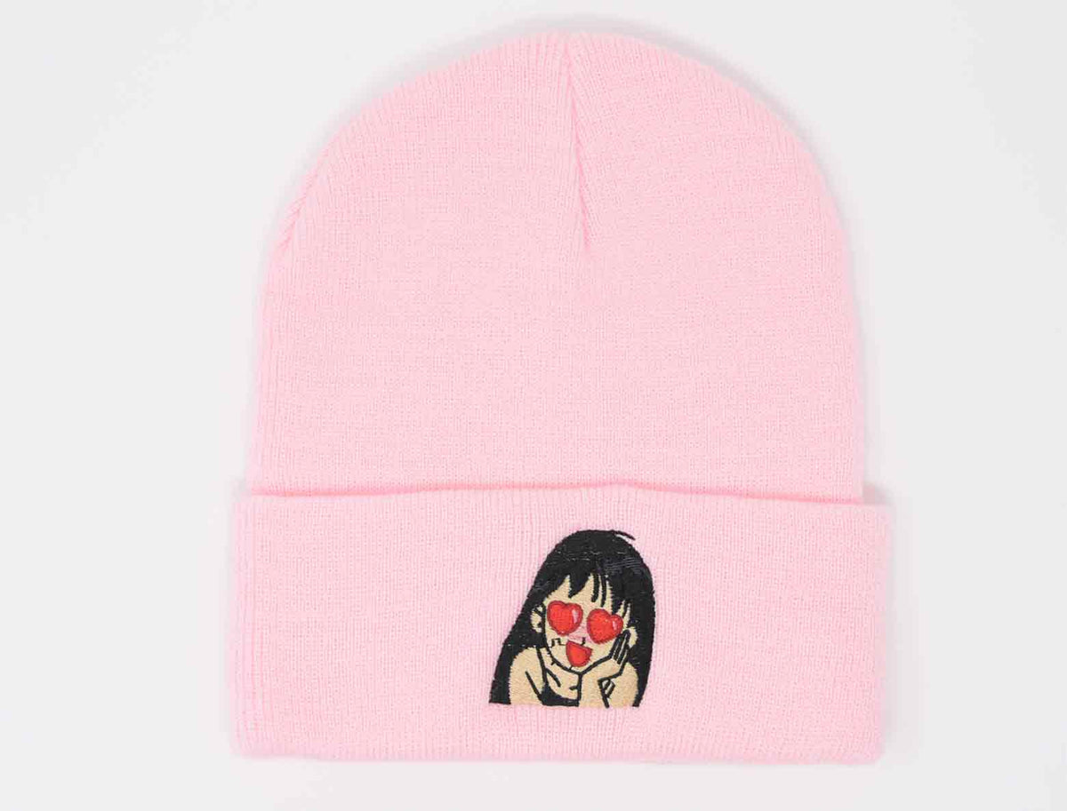 new arrive casual shoes 50% off Heart Eyes Anime Beanie — Ratchet Decals