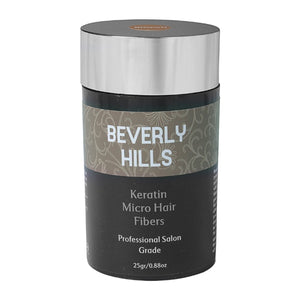 Hair Building Keratin Fibers - Conceal Hair Loss, Add Thickness and Body, and Thicken Thinning Roots - for Men and Women by Beverly Hills
