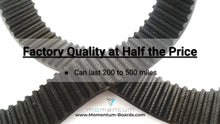 Load image into Gallery viewer, 2/3 Day Shipping Boosted Board V1 Belts | 200+ mi | Full Warranty