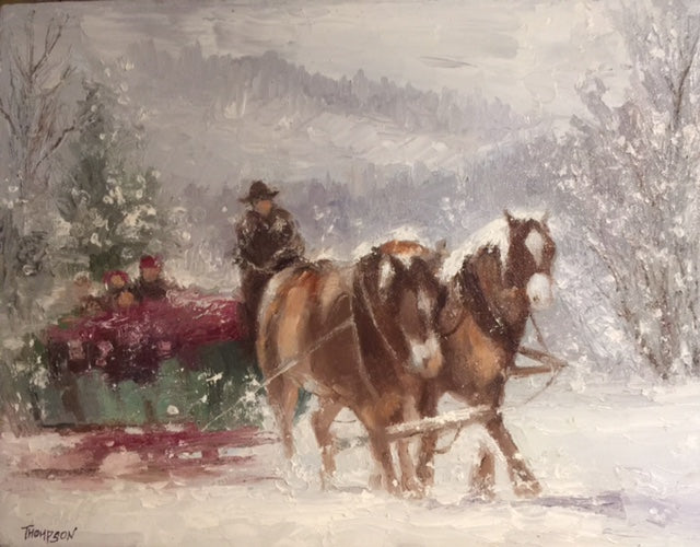 Christmas in Jackson Hole- Peggy Ann Thompson