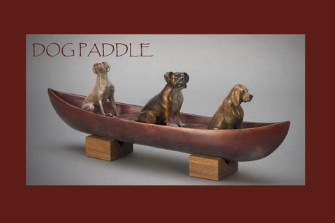"""Dog Paddle"" by Kim Chavez"