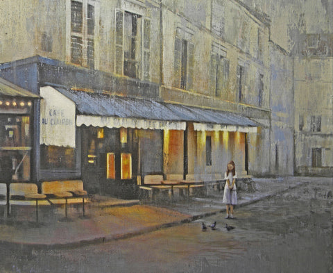 """Evening in Paris"" -  by JM Brodrick"