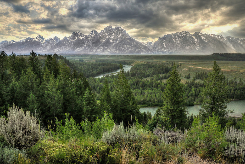 Grand Tetons and Snake River photograph for sale