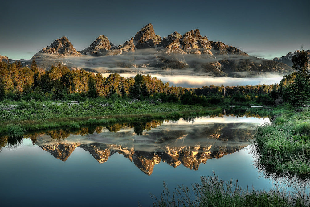 Grand Tetons photograph for sale