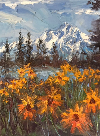 Mountain Wildflowers at Jackson Lake- Peggy Ann Thompson