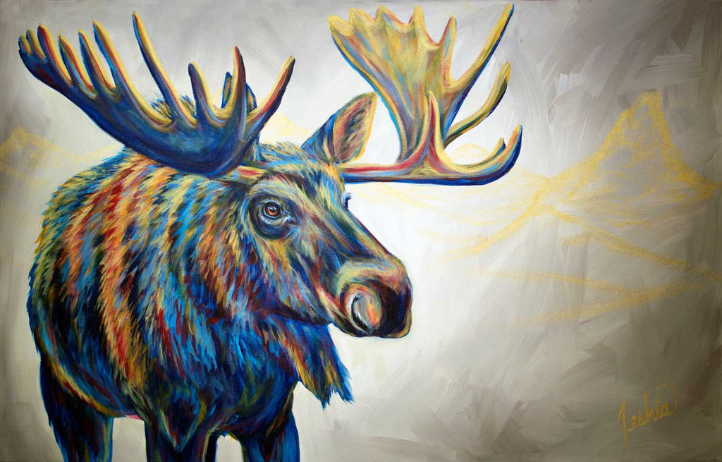 """Moose'n Around"" by Teshia"