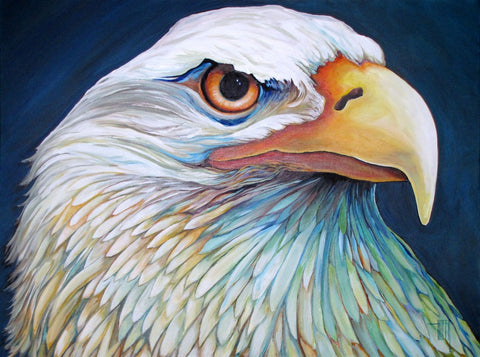 """Proud Eagle"" by Ed Hofer"