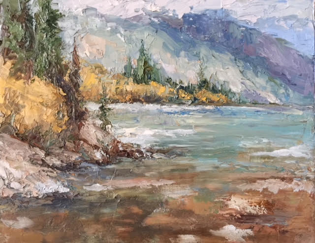 Rivers Edge- Peggy Ann Thompson