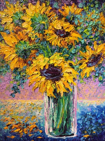 Sunflower Study- Kimberly Adams