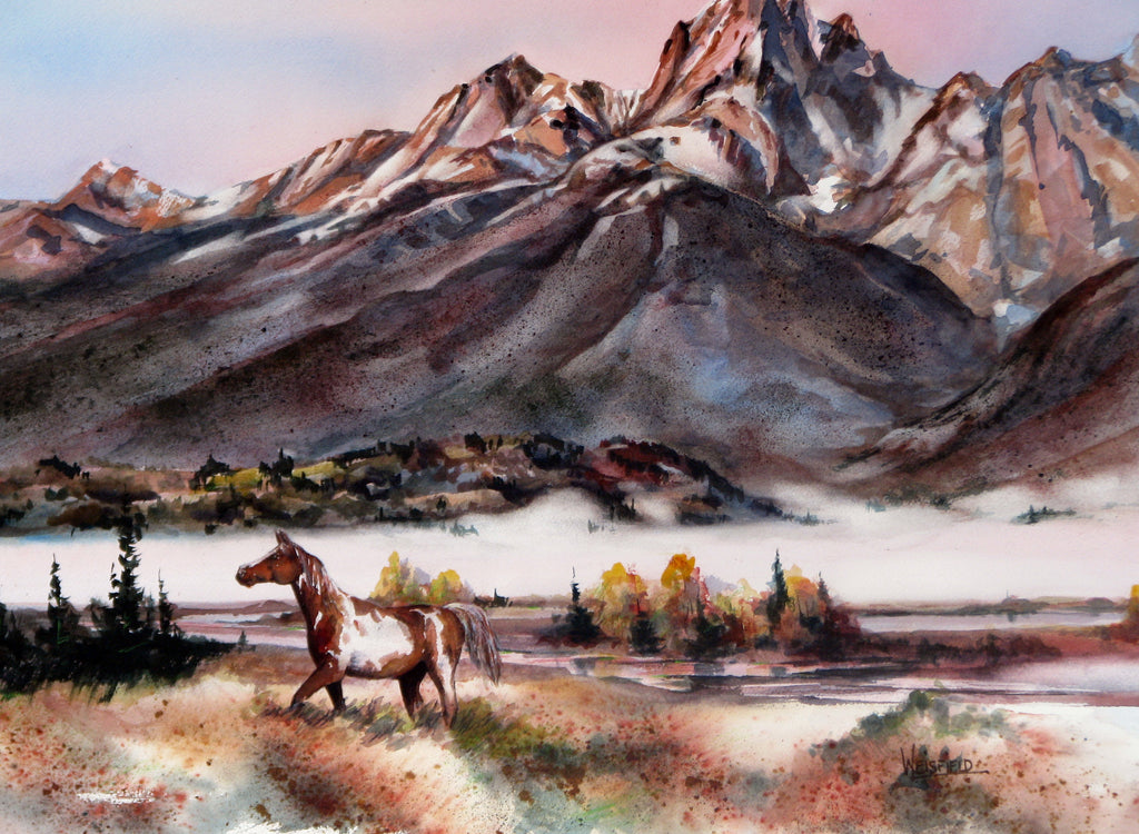 Teton Free by Gayle Weisfield