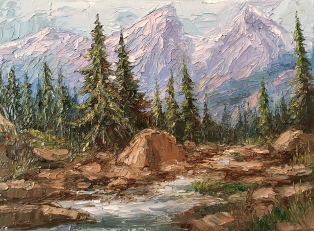 Teton View- Peggy Ann Thompson