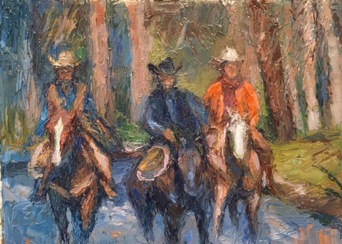 Three Cowboys- Peggy Ann Thompson