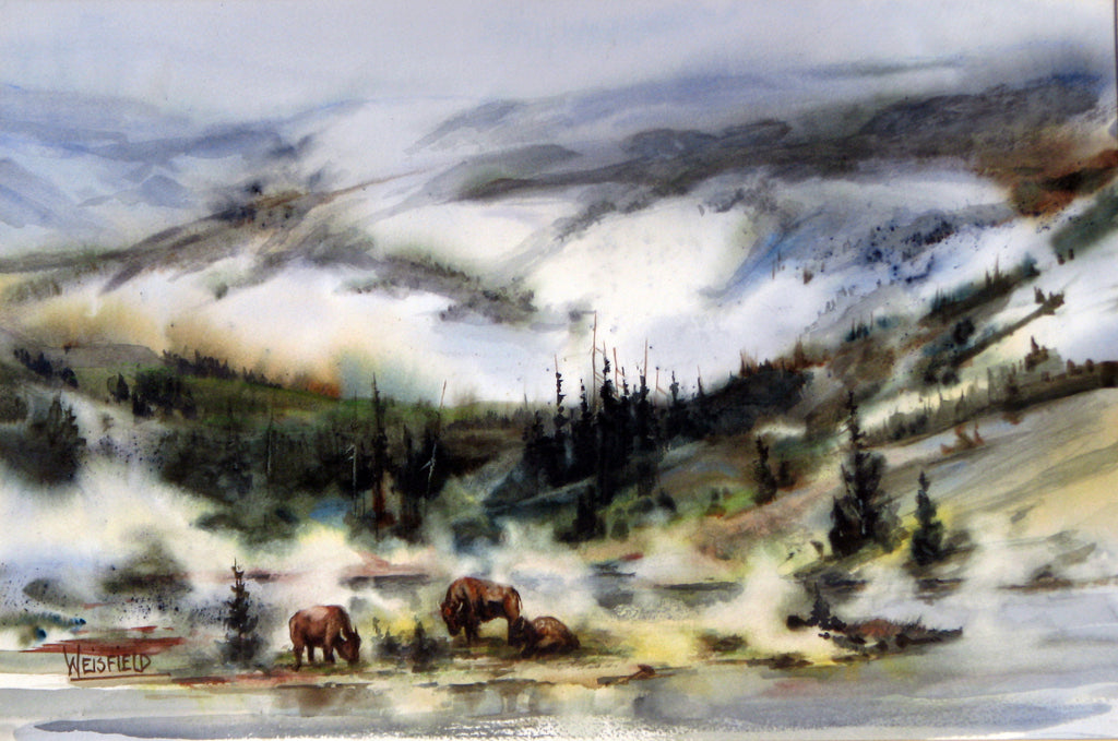 Yellowstone Locals by Gayle Weisfield