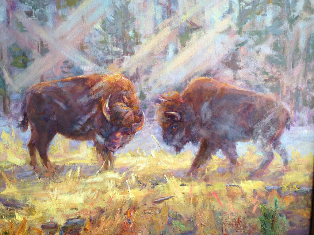 Yellowstone River Bison
