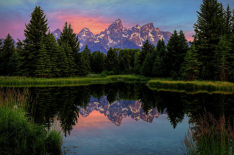 Teton Morning Glow- Ryan Smith
