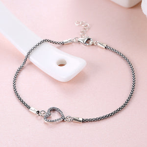 Armbånd Heart with stones