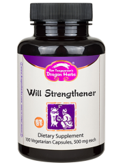 Will Strengthener 100 Capsules - Dragon Herbs