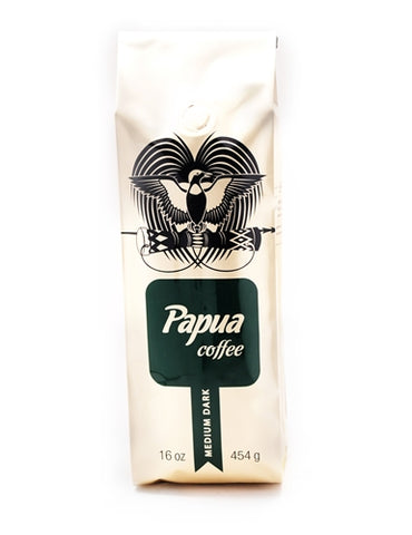 Papua Coffee Mediterranean Blend - Medium 16oz