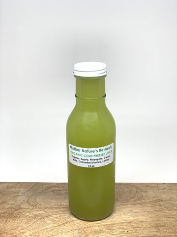 Organic Cold-Pressed Juice - Pineapple & Celery 13oz