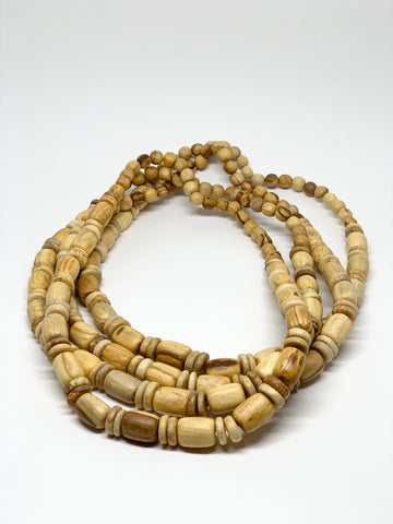 Palo Santo Bead Necklace