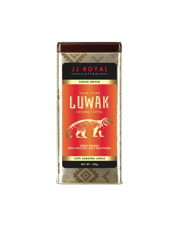 JJR 100% Pure Luwak Ground Coffee (100g)