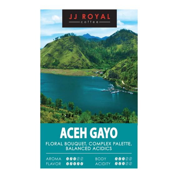 Aceh Gayo Arabica Ground Alu Bag (500g)