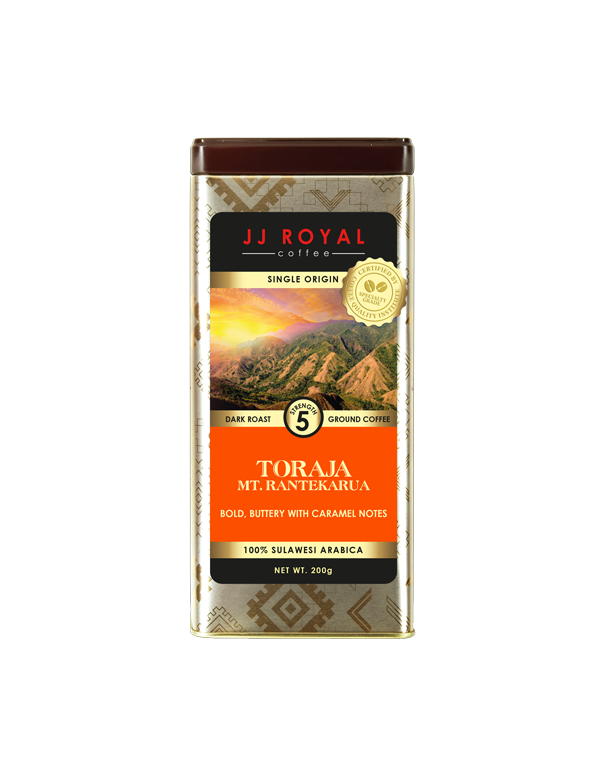 JJR Toraja Arabica Ground Tin (200g)
