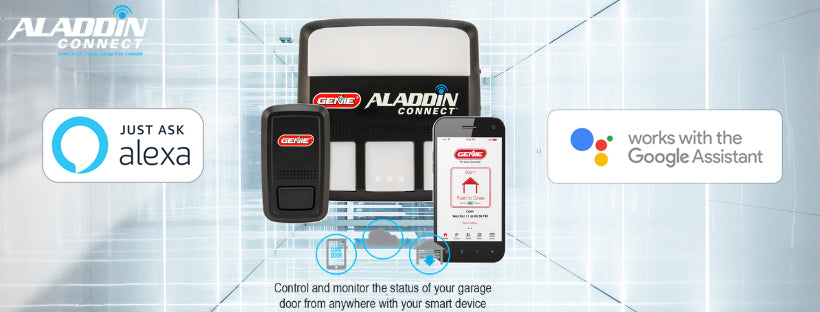 Aladdin Connect wifi enabled smart garage door controller