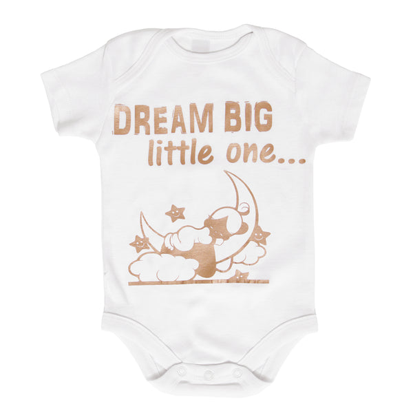 Dream Big Custom Baby Onesie