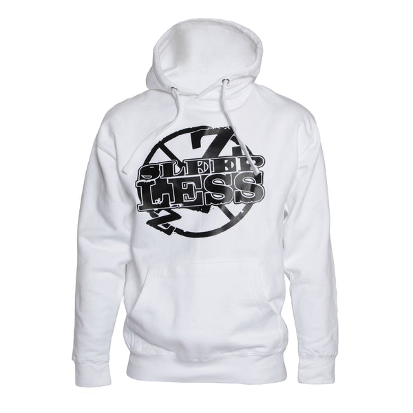 Official SleeplessCO White Hoodie
