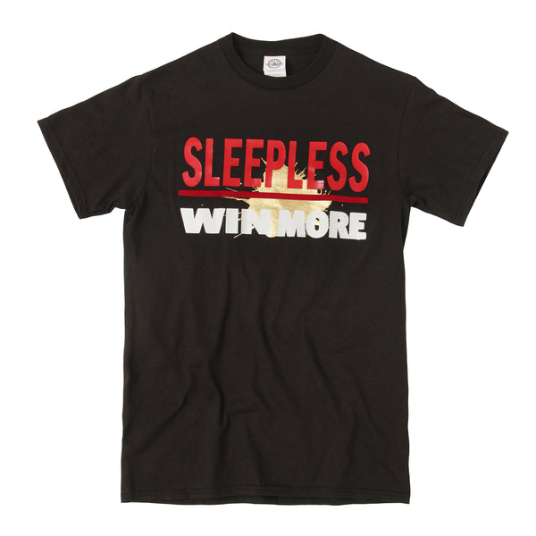 Sleepless Win More Black T-Shirt