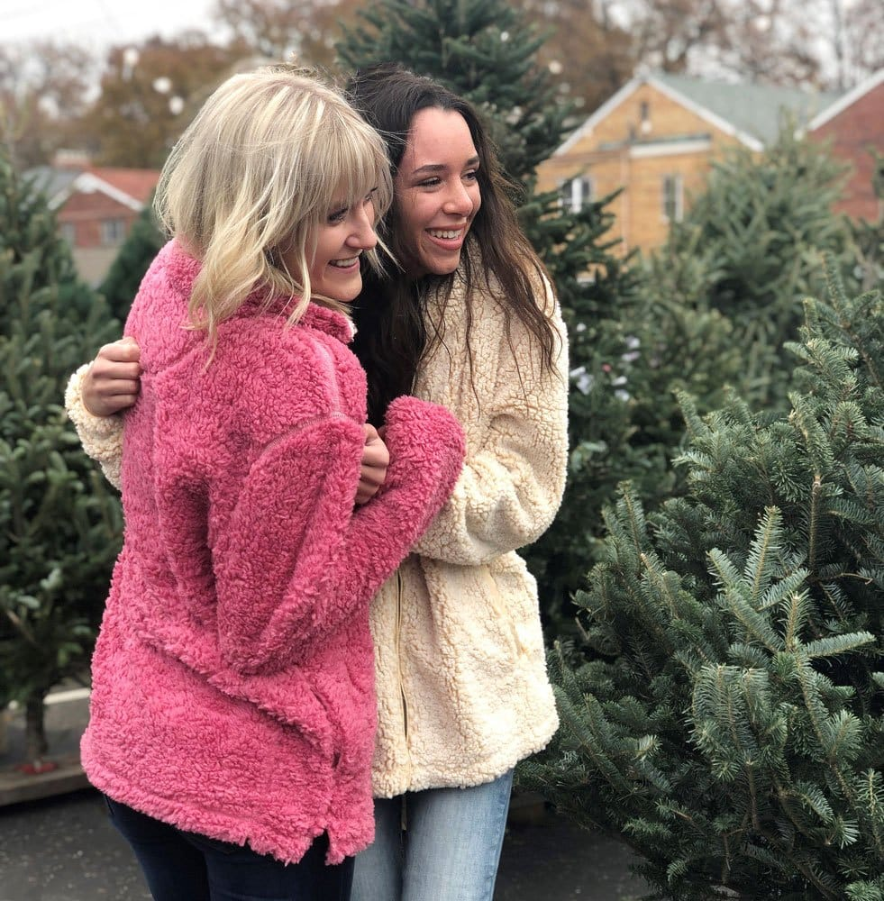 Sherpa Pullovers for Women