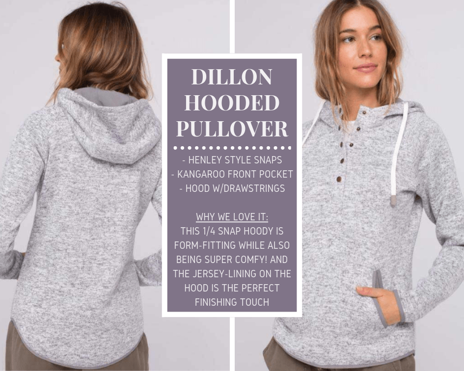 Dillon Hooded Pullover