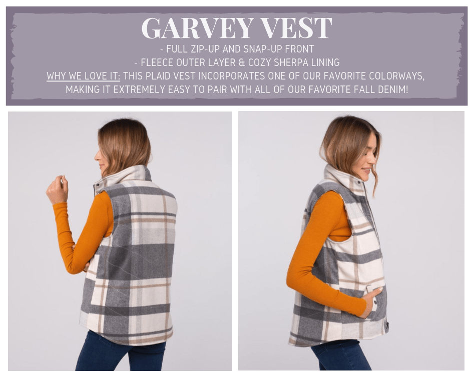 Garvey Plaid Vest
